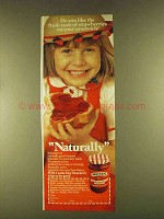 1980 Smucker's Strawberry Preserves Ad - Fresh Taste