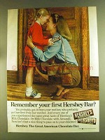 1980 Hershey's Milk Chocolate Ad - Remember Your First