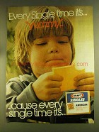 1980 Kraft Singles Ad - Every Single Time It's Yummy!
