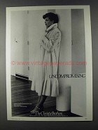 1980 The Christie Brothers EMBA Rovalia Mink Coat Ad
