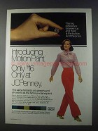 1980 JCPenney Motion Pant Ad