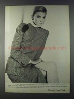 1980 Barney's, New York Armani Ad - Herringbone Jacket