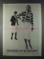 1980 Givenchy Sport Fashion Ad
