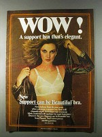 1980 Playtex Support Can be Beautiful Bra Ad - Wow!