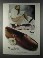 1980 Bass Weejuns Shoes Ad - Comfort of a Classic