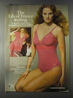 1980 Lily of France Rasa Knit Daywear & Sleepwear Ad