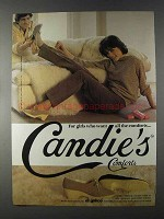 1980 El Greco Candie's Comforts Shoes Ad - For Girls