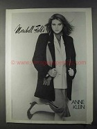 1980 Marshall Field's Anne Klein Fashion Ad