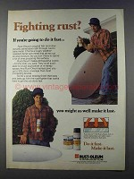 1980 Rust-Oleum 7769 Rusty Metal (fish oil) Primer Ad