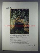 1980 Boise Cascade Corporation Ad - We Take Care