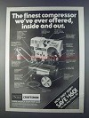 1980 Sears Craftsman Air Compressor Paint Sprayer Ad