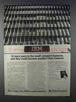 1980 Data General Computers Ad - 10 More Years
