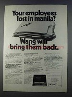 1980 Wang Human Resource Management System HRMS Ad
