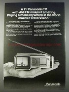 1980 Panasonic TravelVision TV Ad - Amazing