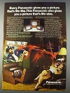 1980 Panasonic Projection TV Ad - Picture Life-Like