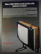 1980 Bang & Olufsen Beovision 8800 Television Ad