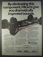 1980 Hitachi Automatic Sound Level Control Ad