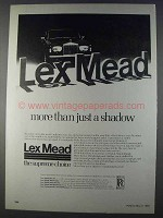 1980 Lex Mead Rolls Royce Ad - More Than Shadow