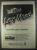 1980 Lex Mead Rolls Royce Ad - More Than a Shadow