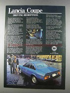 1980 Lancia Coupe Ad - Driving Redefined
