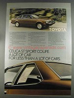 1980 Toyota Celica CT Sport Coupe Ad - A Lot of Car