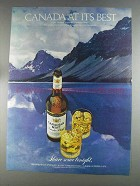 1980 Canadian Mist Whisky Ad - At Its Best