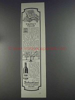 1980 Sebastiani Wine Ad - Irrigating a Vineyard