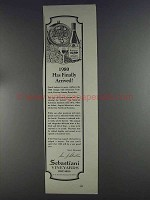 1980 Sebastiani Wine Ad - 1980 Has Finally Arrived