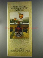 1980 Irish Mist Liqueur Ad - Settled Over the Evening