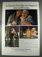 1980 Amaretto di Saronno Ad - Love Like Ours