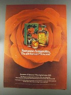 1980 Amaretto di Saronno Ad - Says I Love You