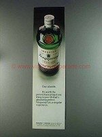 1980 Tanqueray Gin Ad - Own a Bottle