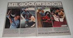 1980 GM Mr. Goodwrench Service Ad - He Has 4 Ways