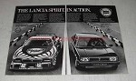 1980 Lancia Montecarlo and Delta Car Ad - Spirit Action