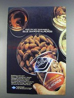 1980 Blue Diamond Smokehouse Almonds Ad - Wet Whistle