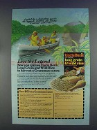 1980 Uncle Ben's Long Grain & Wild Rice Ad - Legend