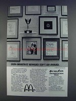 1980 McDonald's Ad - PBS Leatherstocking Tales
