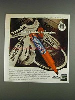 1980 Carter's Marks-A-Lot Marker Ad - Lasting