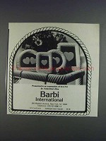 1980 Barbi International Frames Ad - Valentine's Day