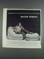1980 Roche Bobois Chair Ad - Most Exciting Furniture