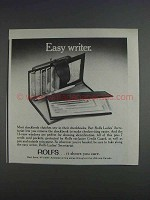 1980 Rolfs Ladies' Secretariat Ad - Easy Writer