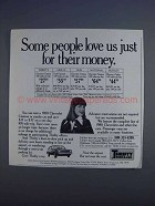 1980 Thrifty Rent-a-Car Ad - Some People Love Us