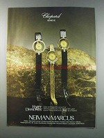1981 Chopard Happy Diamonds Watches Ad