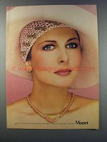 1981 Monet Calypso Collection Necklace and Earrings Ad