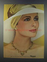 1981 Monet Necklace and Earrings Ad