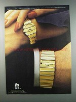 1981 Piaget Polo Watches Ad - Link-by-Link