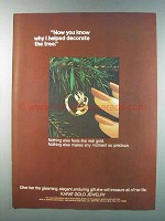 1981 Karat Gold Jewelry Ad - Decorate the Tree