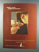 1981 Karat Gold Jewelry Ad - Changed Tax Attorneys