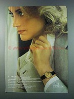 1981 Corum Gold Piece Watch Ad - I'll Stake My Corum