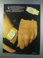 1981 Concord Delirium and Delirium La Scala Watches Ad
